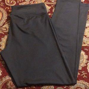 Adidas charcoal grey leggings, size large